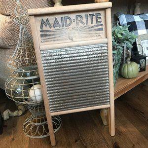 vintage washboard!